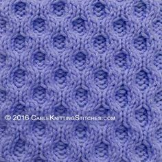 Reversible Knitting Stitches Cables : 1000+ images about Cable Knitting Stitches on Pinterest Cable knitting, Cab...