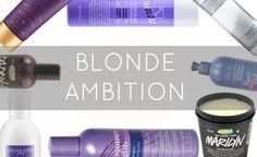HauteTalk--8 must haves for platinum blonde hair #blondeambition #platinumblonde