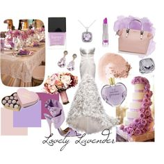 Lovely Lavender Wedding Inspiration #Lavender