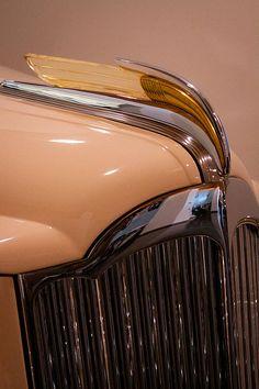 1941 Packard Darrin Victoria.  | More here: http://mylusciouslife.com/stylish-home-luxury-garage-design/