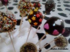 Dulces felicidades: Cómo hacer cake pops de magdalenas y nutella