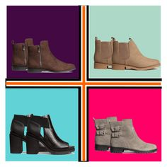 """Fall Boots"" by girlie-contrast on Polyvore featuring H&M"