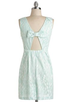 Sage Tea Dress, #ModCloth