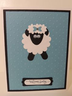 Stampin-Up-Welcome-Baby-Handmade-Card-Blue