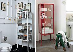 armários de farmácia na decoração #quero