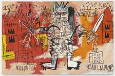 Jean-Michel Basquiat, Untitled (1981). Courtesy of artnet Price Database.