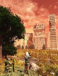 Return to Gamma World by lhumungus on DeviantArt