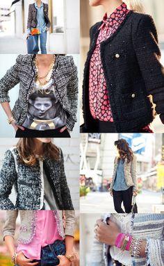 Saturday Style File: Tweed Jackets