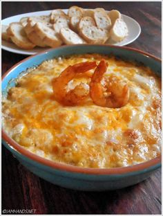 Recipe For Spicy Creole Shrimp Dip - To be honest, everyone freaked out about how great it was. This one is going in the top recipes for 2014 for sure.