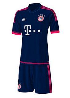 Tercera equipación del Bayern Munich 2015 2016 ???