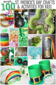100 St Patricks Day Crafts and Activities For Kids from the Kids Activities Blog...