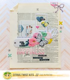 As always I have 4 layouts if we talk about Citrus Twist Kits. This March Kit layout is one of my fav. All of this layout that I created here using their Main and also Embellishment Kit. Let'…