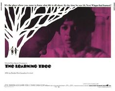 THE LEARNING TREE GORDON PARKS fascinating look at the in black America does not shy away from painful and unsettled policies. Still beautiful and powerful. Kyle Johnson, Gordon Parks, Warner Bros, Good Movies, I Movie, Novels, History, Learning, Movie Posters