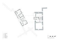 First Floor Plan (De WT Architecture)