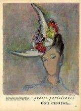 Rose Valois (Millinery) 1947 Mrs Finaz Portrait, Reinoso