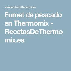 Fumet de pescado en Thermomix - RecetasDeThermomix.es