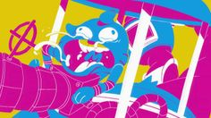 Cartoon Network Summer Ident 2013 by CRCR. 60 second animated exquisite corpse for Cartoon Network.