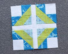 Feeling Cross scrappy quilt block | Bonjour Quilts