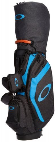 Oakley Japan Golf Stand Carry Caddy 9.0in Bag 92924JP Gray EMS Free Shipping