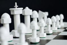 Tool Chess Set by ToolChess on Etsy, $165.00