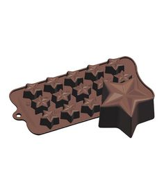 Take a look at this Jeweled Star Silicone Chocolate & Candy Mold by Fat Daddio's on #zulily today!