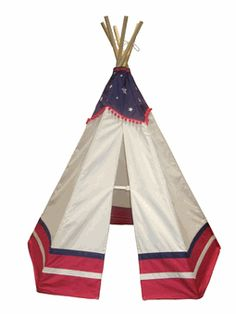 The Kids American Style TeePee is a fun playhouse that helps create exciting backyard adventures. The teepee complies to US Toy Safety Standards, however, we say leave the cooking to your parents in t