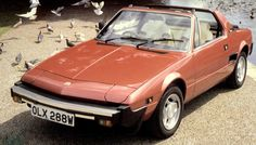 #5 The old Fiat X1/9