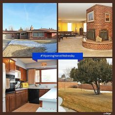 Sprawling 2400 sq ft #WyomingHomeWednesday ranch home - One level living 3 sided gas fireplace and 2nd gas fireplace in sunroom. Large master jetted tub 6 closets 2 are cedar lined. 2nd bedroom next to 3/4 bath. 2 sheds RV Parking with alley access & plenty of land to build another garage. Sprinkler system with mature landscaping newer appliances separate dining wet bar and great views. Spacious yard and open floor plan make this house a must see!!! #CheyenneWyoming #cbtpe #welcomehome