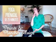 Yoga prénatal et postnatal pour le périnée et le plancher pelvien - YouTube