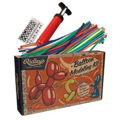 Ridley's Balloon Modelling Kit for kids