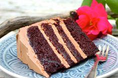 Paulas Frauchen: Chocolate-Fudge-Cake nach Cynthia Barcomi