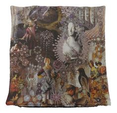 The cushion is hand made in Spain and shows part of the famous story The Snow Queen by Hans Christian Andersen Hans Christian, Cushion Pillow, Pillows, Cushions For Sale, Snow Queen, Buy Art, Digital Prints, Fairy Tales, House Design