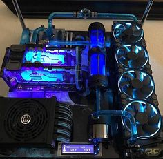 Amazing build by @mrcjc  Cable management is perfect and altogether it looks just really cool with nice pipe work huge radiator and reservoir...  What are your thoughts guys and gals? Write down...  And don't forget the giveaway with the link in my Bio...  ••••••••••••••••••••••••••••••••••••••••••••••• Follow my friend for awesome builds: @pcmodbuilds Follow my brother for great gameplay: @itsm8mario Follow my mate for nice setups: @idealsetups •••••••••••••••••••••••••••••••••••...