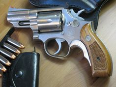 """Smith & Wesson 2½"""" Model 66 (.357 Magnum) with Tyler T-Grip"""