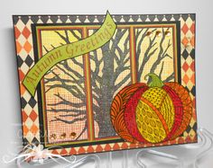 CraftEMarie: Wicked Trees http://craftemarie.blogspot.com/2015/10/wicked-trees.html