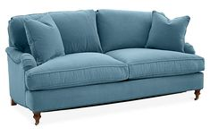 Brooke Sleeper Sofa, Light Blue Crypton - Sofas & Sectionals - Furniture - Category Landing Page One Kings Lane , Apartment Furniture, Sofa Furniture, Furniture Makeover, Furniture Buyers, Furniture Removal, French Furniture, Furniture Outlet, Furniture Companies, Furniture Stores