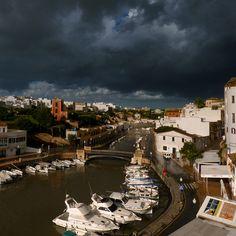 After the rain the sun shines bright in Ciutadella by B℮n, via Flickr