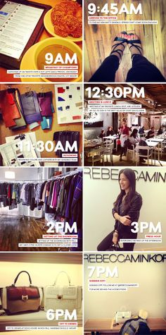 A day in the life of @Christina Childress Childress Childress & Minkoff #RMxNordstrom
