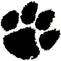 tiger paw print clipart clipart kid ppe pinterest tigers rh pinterest com clemson tiger paw clipart tiger paw clipart black and white