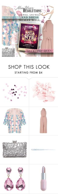 """""""#PolyPresents: New Year's Resolutions {Winter 18 – Plus Size Chic}"""" by foolsuk ❤ liked on Polyvore featuring Clarins, River Island, Winky Lux and Levi's"""