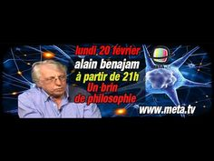 Alain Benajam actualités et philosophie - Meta TV 1/3