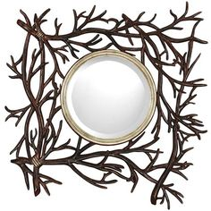 I pinned this Twig Wall Mirror from the Paragon event at Joss and Main!    What an accent! It goes beyond the norm. Looking for unique pieces to compliment room in your home