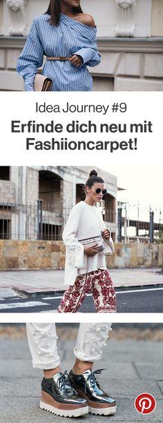 Von Perlen besetzten Jeans bis hin zu schulterfreien Blusen, diesen Monat kannst du dich neu erfinden. Inspirationen dafür gibt es von Nina von Fashiioncarpet. Was probierst du als erstes aus?