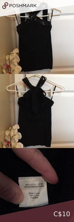 Shop Women's Costa Blanca Black size S Tops at a discounted price at Poshmark. Description: Black halter top with sequin embellishment on the top. Plus Fashion, Fashion Tips, Fashion Trends, Black Tops, Costa, Top Colour, Sequins, Outfits, Beauty