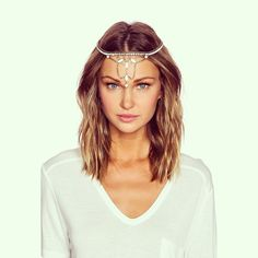 Find #lionetteny at @revolveclothing ❤️#repost #helenaheadpiece #headjewelry #headpiece