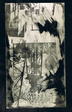 Intersection (Night Shade), 1991 Robert Rauschenberg