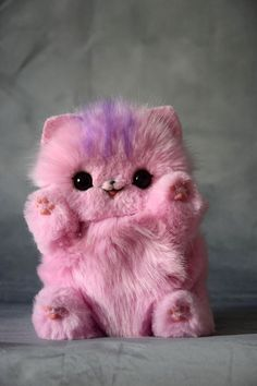 Baby Animals Super Cute, Cute Baby Dogs, Cute Stuffed Animals, Cute Little Animals, Baby Cats, Cats And Kittens, Baby Animals Pictures, Cute Animal Photos, Mystical Animals