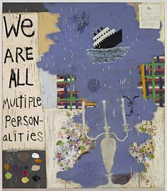 We are all multiple personalities by Squeak Carnwath