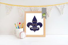 Scout leader Appreciation gift: Personalised by TheArtyApples