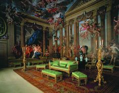 burghley house dining room | heavens